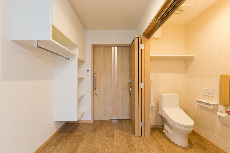 手洗い・トイレ(個室内)