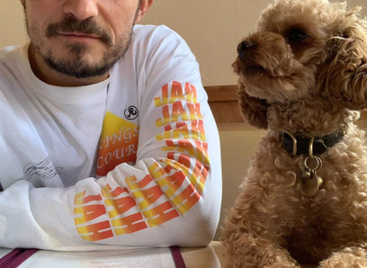 Orlando Bloom says his missing dog, Mighty, is dead and reveals a tribute tattoo