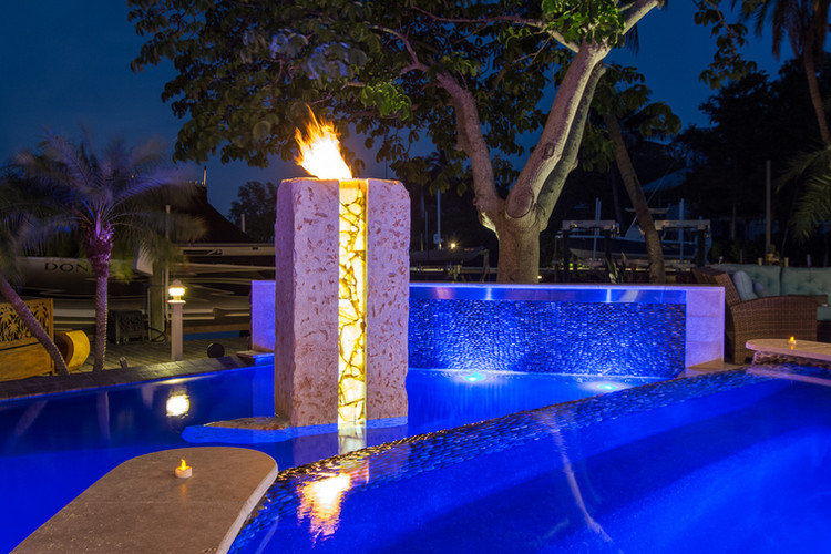 CORAL AND SOAPSTONE FIRE PIT
