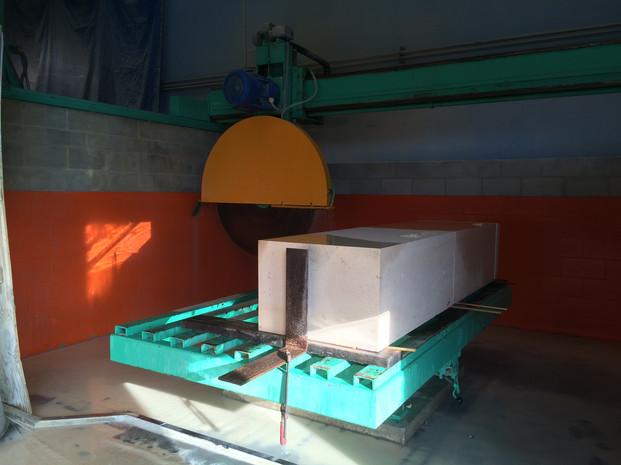 cutting smaller blocks for bench 2.JPG