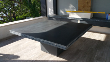 OUT DOOR SLATE TABLE