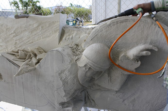 SCULPTURE HAND CARVING