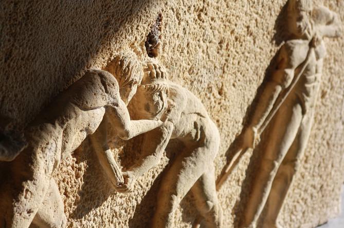 GREEK WRESTLERS RELIEF
