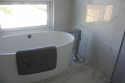 MARBLE SHOWER WALLS