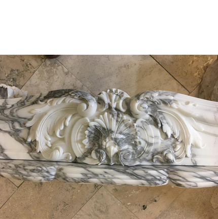 MARBLE FIREPLACE SAMPLE