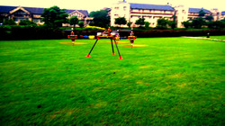 """The Y6-B """"Cicada"""" at BITS central lawns"""