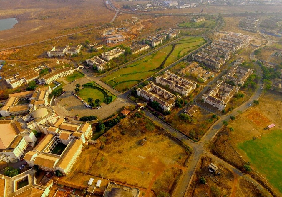 BITS Pilani, Goa from 600 feet
