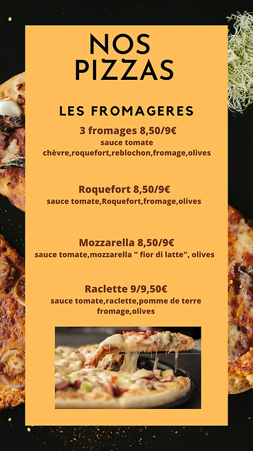 Story Instagram photographie pizza rouge
