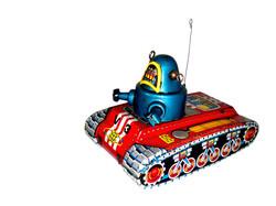 V 3 Robot Tank (ROBBY)