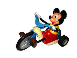 MICKEY ON TRICYCLE