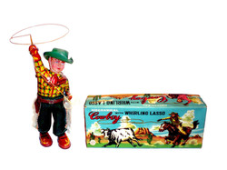 COWBOY WHIRLING LASSO