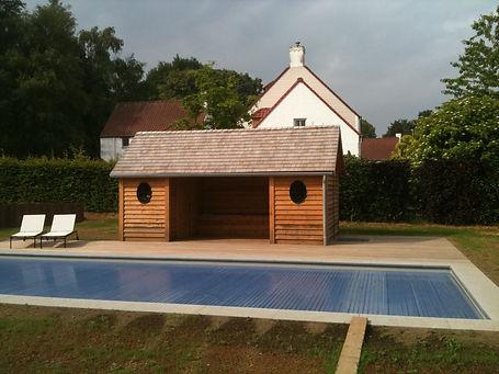Pool house chassi en métal
