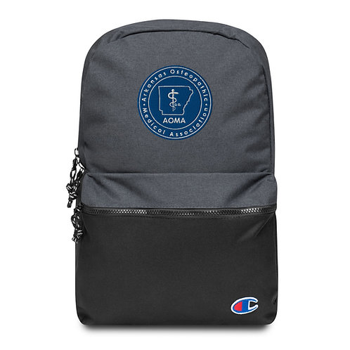 AOMA Embroidered Champion Backpack