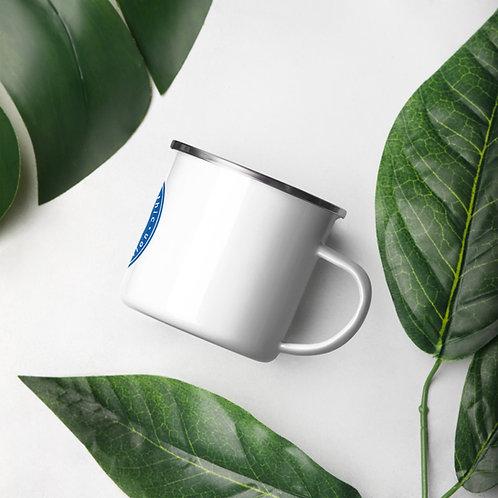 AOMA Enamel Mug