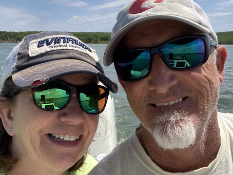 Fishing with Mrs C