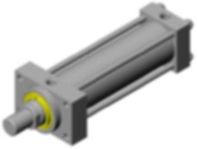 Hydraulic Tie Rod Cylinder, ACE Automation LLC