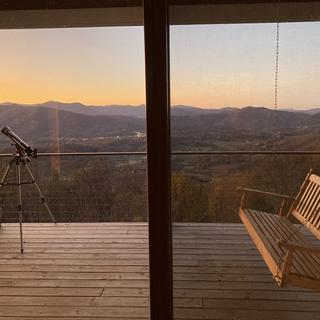 Deck Sunset View