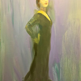 Ms Louise Hurford oil 50x40in