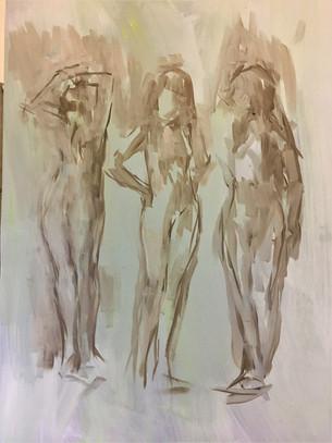 Conversation oil 16x12 in.JPG