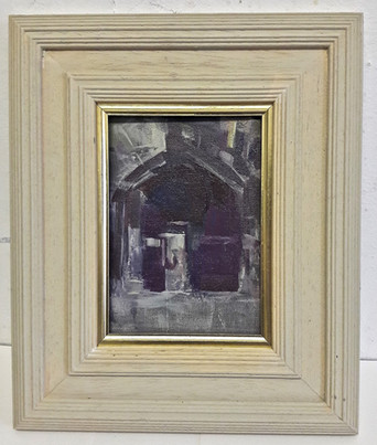 Jesus College Gate oil 7x5in.jpg