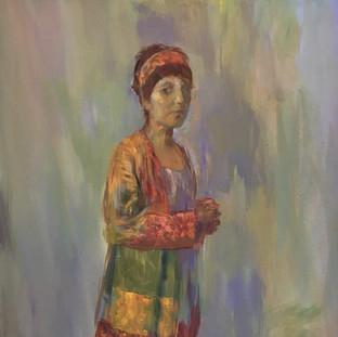 """Portrait of Sarah 60x40"""""""