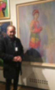 N.P. James with Portrait of Sarah Mall G