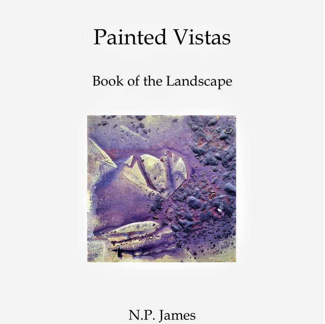Lanscapes Painted Vistas Book Cover