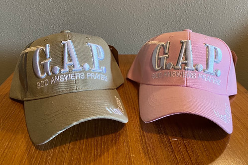GAP: God Answers Prayers Cap