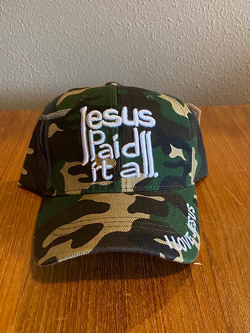 Jesus Paid it All Cap