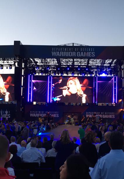 Warrior Games Concert