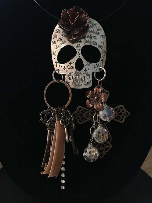 Pendant Skull Necklace