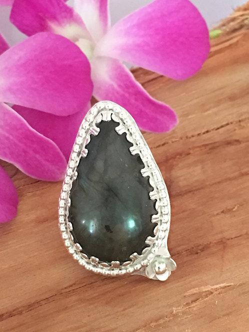 Teardrop Labradorite Stone