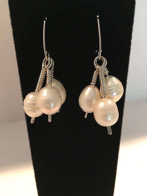 Triple Freshwater Pearls