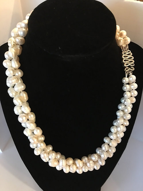 Multi Strand Freshwater Pearls