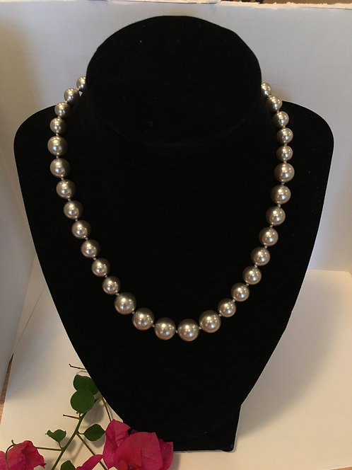 Swarovski Light Grey Necklace