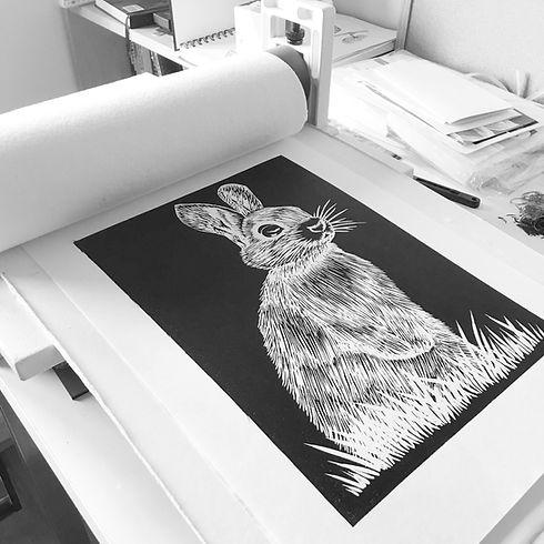 lino print studio