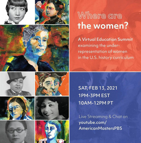 Where Are The Women? Summit on Saturday, February 13th at 10am-12pm PST