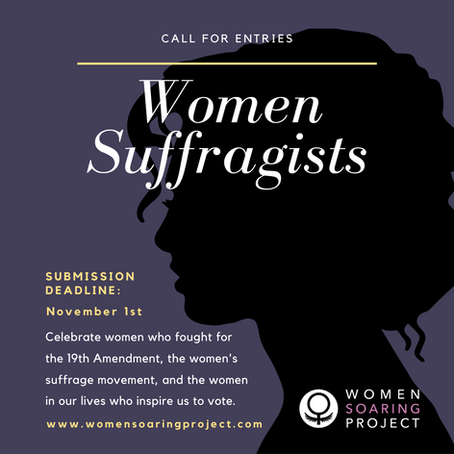 Call for Entries for Women Suffragists Art Show
