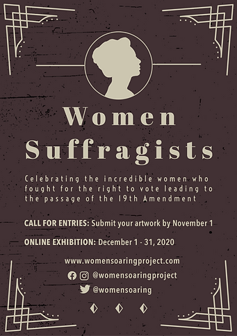 Women Suffragists Flyer