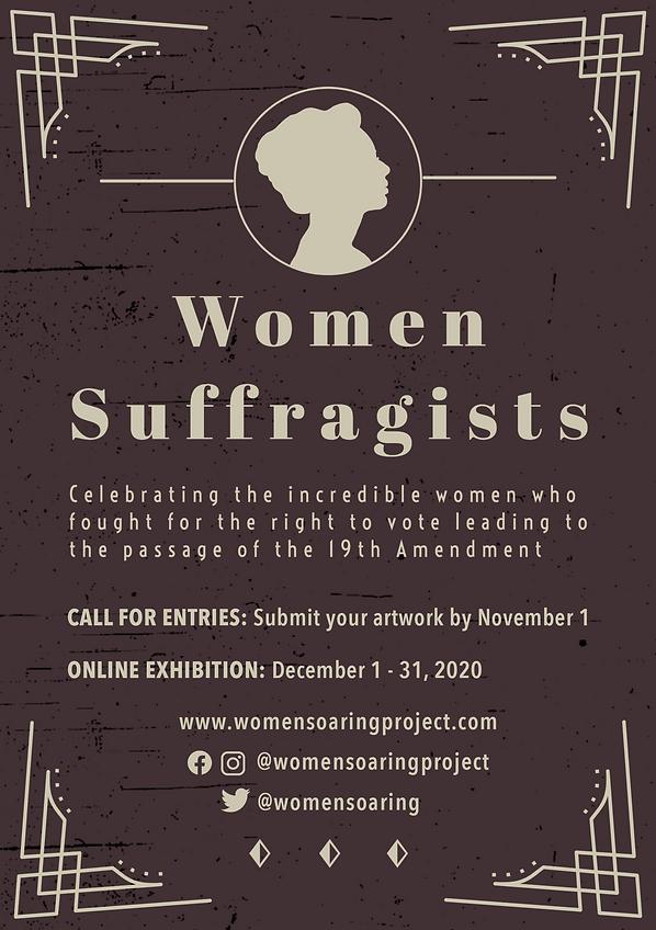 Women Suffragists Flyer
