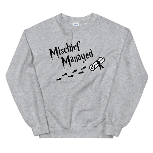 Mischief Managed - Sweatshirt (light)