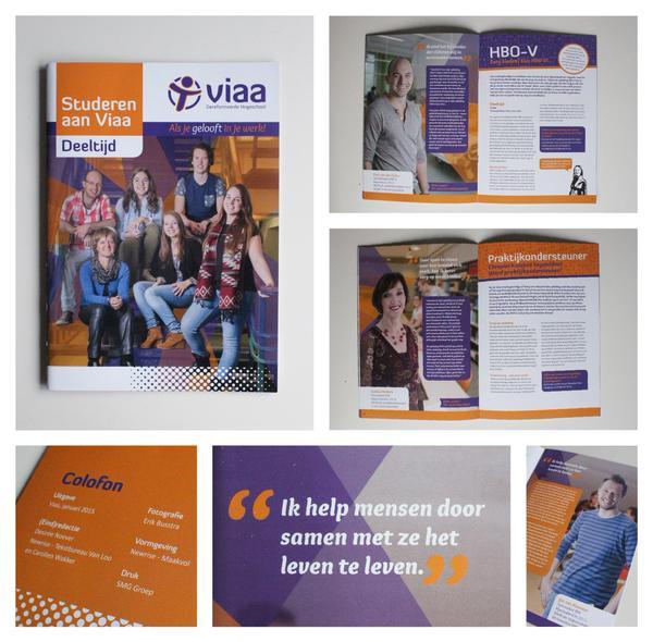 Viaa - Deeltijd brochure