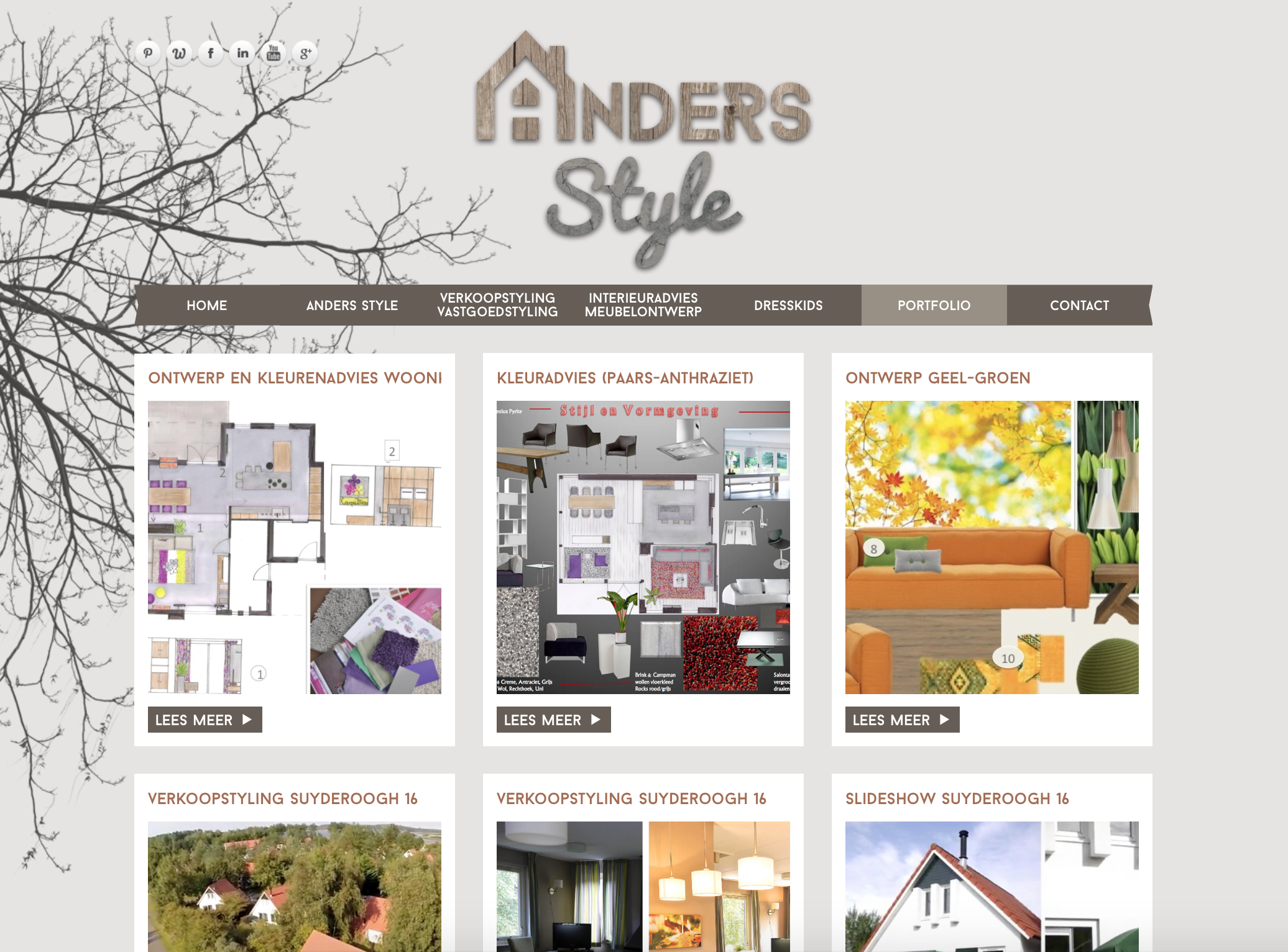 Anders Style - Website