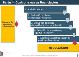 Pautas para la reestructuración financiera de una empresa