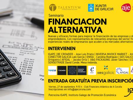 Financiación alternativa. Soluciones innovadoras para la gestión financiera empresarial.