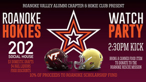 VT @ ND Watch Party Saturday, 11/2
