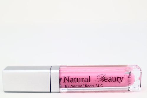 """Pretty In Pink"" Lip Gloss"