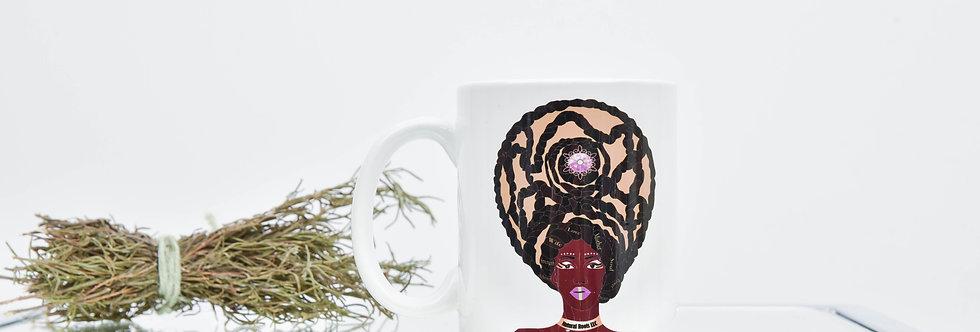 """Natural Roots """"Queen"""" Mug"""