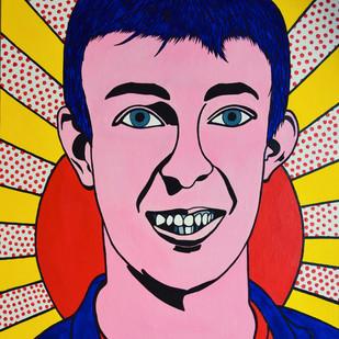 Self-portrait (inspired by Roy Lichtenstein)