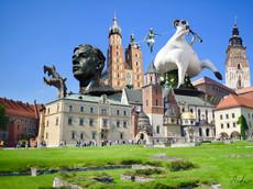 Architecture Collage No. 19 - Krakow II